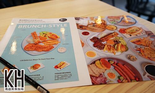 《濰克早午餐》菜單
