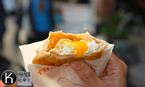 《羊角村炸彈蔥油餅》半熟蛋爆漿
