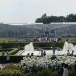 バラ園と温室