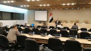 معهد التطوير البرلماني يقيم دورة تطويرية للسكرتارية الاعلامية في اللجان النيابية