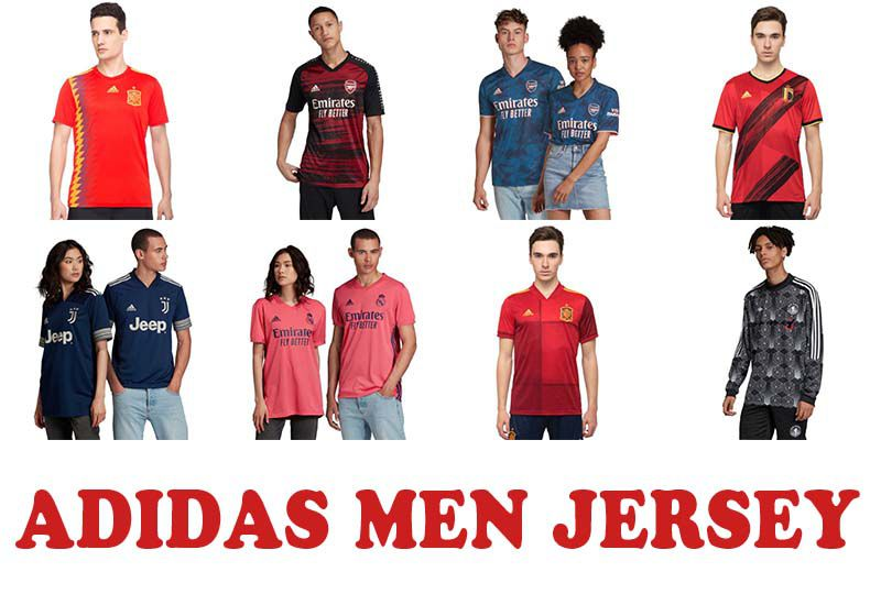 Most Popular Men Jersey from Adidas India