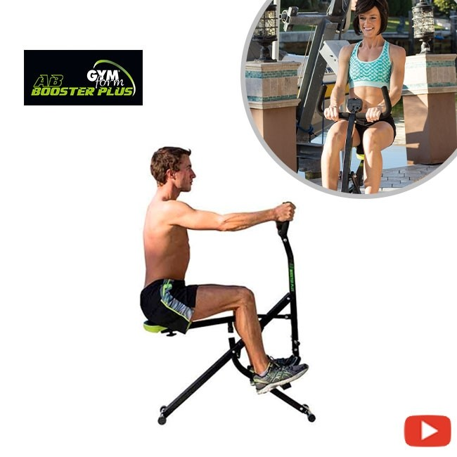 Gymform Ab Booster Plus - All-in-one fitness machine