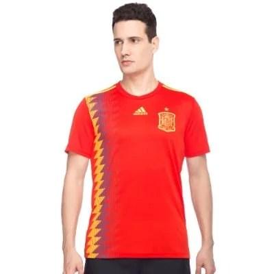 MEN'S ADIDAS FOOTBALL SPAIN HOME JERSEY