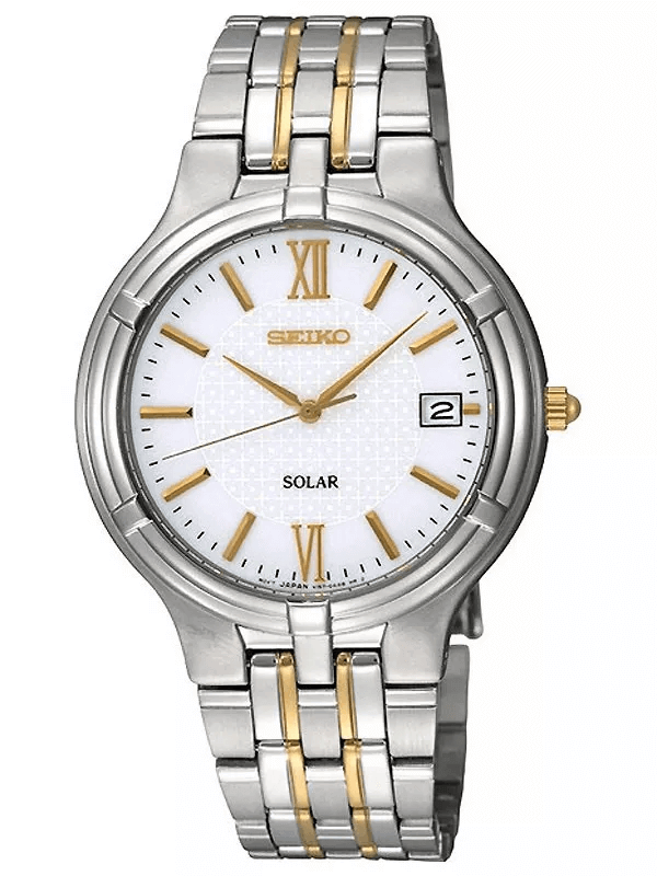 Seiko SNE029P1 solar men's watch
