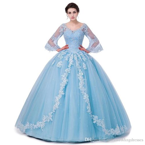 2017 Fashion Scoop Backless Lace Ball Gown Quinceanera Dresses with Appliques Sequin Plus Size Sweet 16 Dresses Vestido Debutante Gowns BQ39