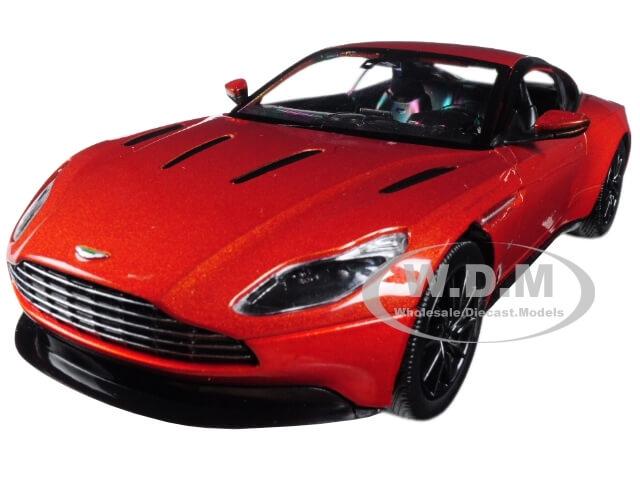 Aston Martin DB11 Copper Orange 1-24 Diecast Model Car by Motormax