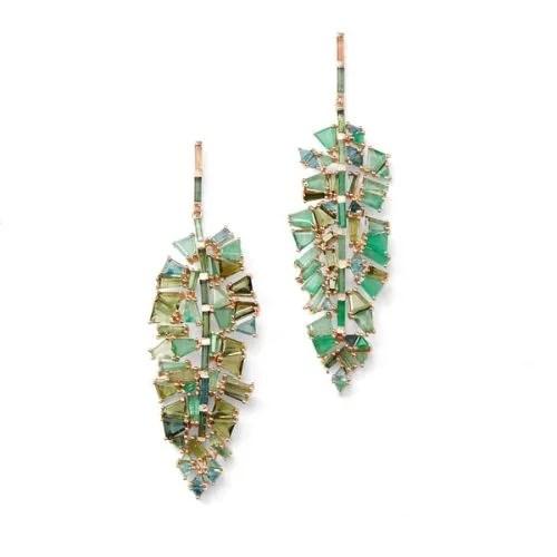 Bahia Leaf Earrings