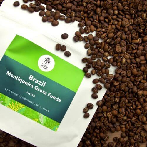 Brazil Mantiquiera Grota Funda Controlled Fermentation Acaia coffee