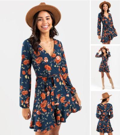 Carla Floral Mini Dress