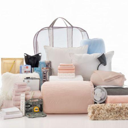 Checklist Saver Collection - 39 Piece Twin XL Bedding and Bath Set