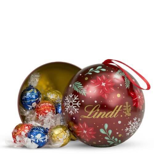 Holiday LINDOR Tin Ornament (15-pc, 6.3 oz)