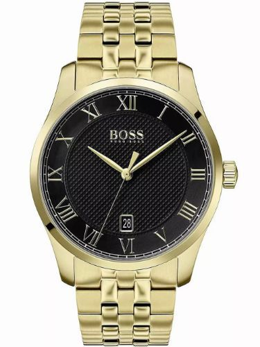 Hugo Boss 1513739 Master Gold men's watch 41mm 3ATM