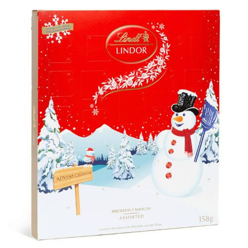 LINDOR Snowman Advent Calendar