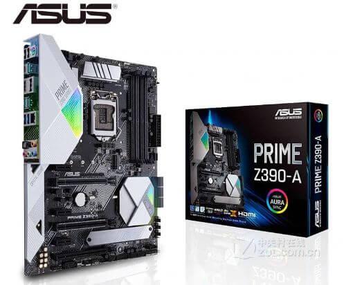 NEW ASUS PRIME Z390-A desktop motherboard original motherboard for intel LGA 1151 DDR4 I3 I5 I7 USB2.0 USB3.0 USB3.1