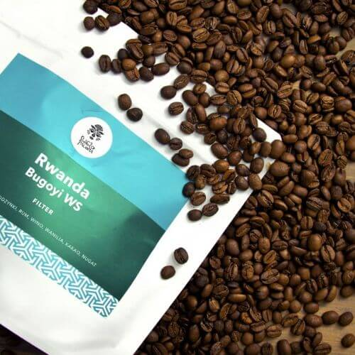 Rwanda Bugoyi Natural Red Bourbon coffee