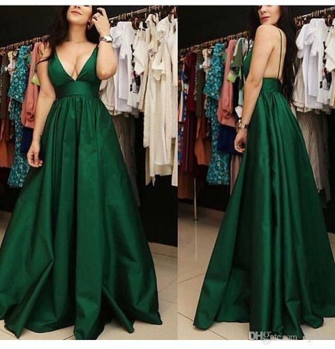 Sexy Plus Size African Black Girl Green Prom Dresses 2019 Long Muslim Dubai Arabic Evening Formal Dress Dress Party Cocktail Dresses
