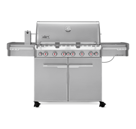 Summit® S-670 GBS - stainless steel gas grill