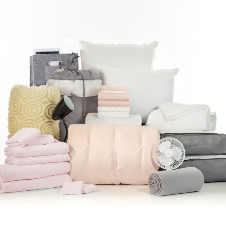 Varsity Collection - 27 Piece Twin XL Bedding and Bath Set