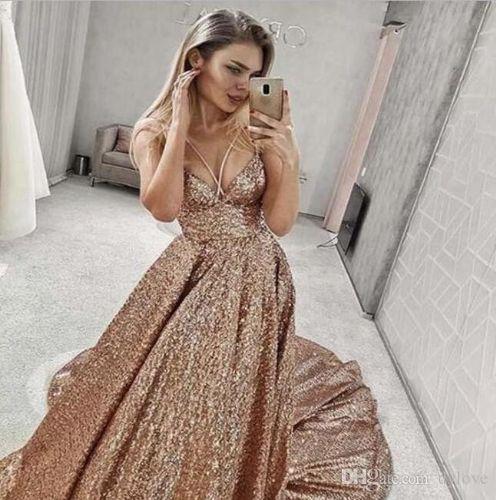 sexy plus size gold prom celebrity dresses formal dress muslim dubai arabic evening dress long 2019