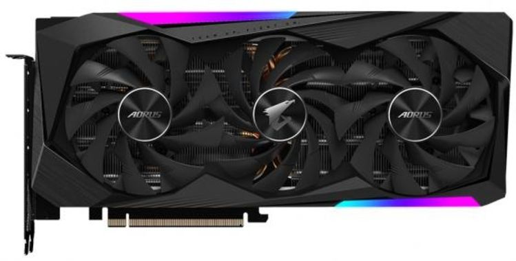 Видеокарта GigaByte nVidia GeForce RTX 3070 AORUS MASTER PCI-E 8192Mb GDDR6 256 Bit Retail GV-N3070AORUS M-8GD