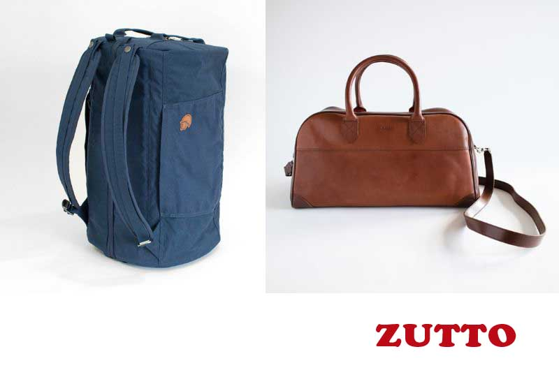 10 Best Selling Travel Bags from ZUTTO