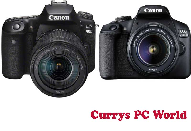 11 Best Selling Canon DSLR from Currys PC World