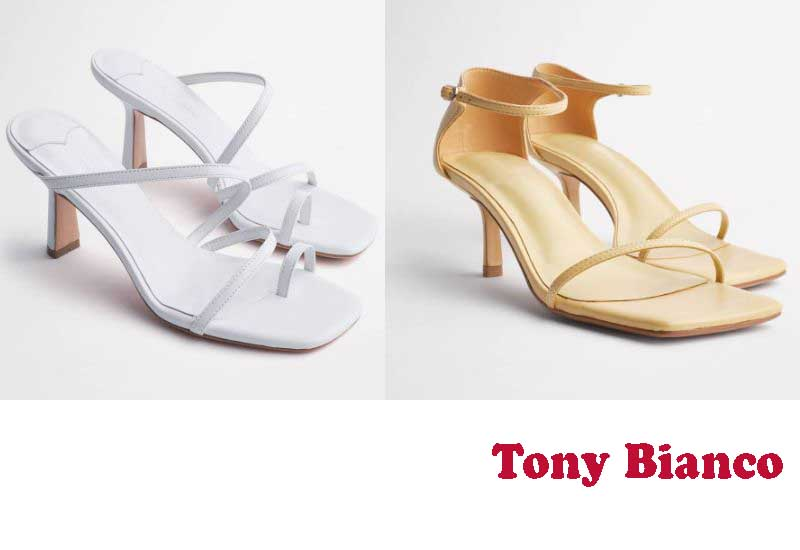 12 Best Selling Bridal Shoes from Tony Bianco