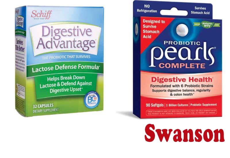 13 Best Seller Probiotics for Digestive from Swanson