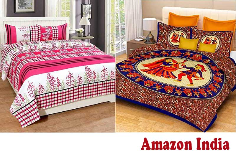 15 Best Selling Double Bedsheets from Amazon India