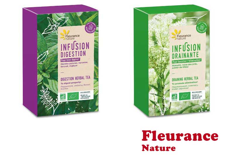 4 Best Selling Herbal Tea from Fleurance Nature