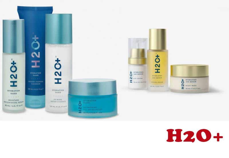 4 Best Selling Skincare packages from H2O