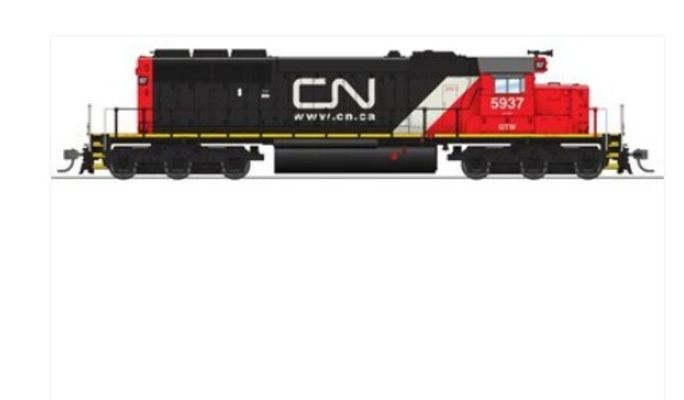 Broadway Limited 5366 HO Canadian National EMD SD40-2 Diesel Loco Paragon3