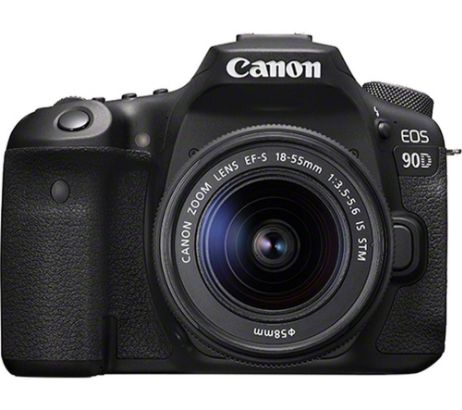 CANONEOS 90D DSLR Camera with EF-S 18-55 mm