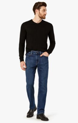 Charisma Relaxed Straight Jeans In Mid Comfort