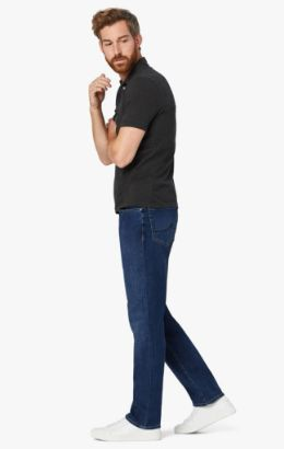 Charisma Relaxed Straight Leg Jeans In Mid Siena