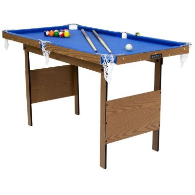 Charles Bentley Junior 4ft Pool Table Blue