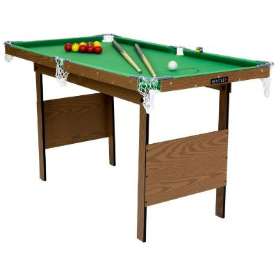 Charles Bentley Junior 4ft Pool Table Green