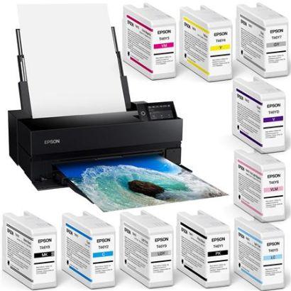 Epson SureColor P900 17 Wide Format Wireless Inkjet Printer W Ink Cartridge KIT