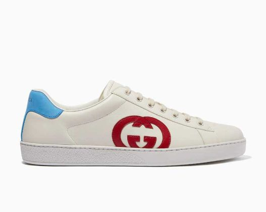 Gucci - Ace Interlocking G Sneakers in Leather