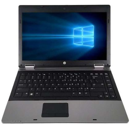 HPI HP 14 ProBook 6450B Laptop - Intel Core i5-520M 2.4GHz, 8GB DDR3, 256GB SSD, DVD-ROM, Integrated Graphics, USB 2.0, VGA, DP, Ethernet, Win 10 Pro 64-bit, Grade A Refurbished