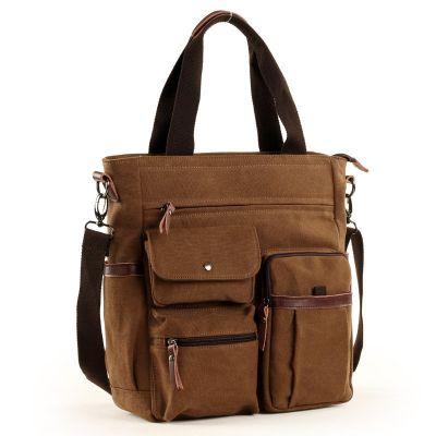 Men Canvas Briefcases Handbag