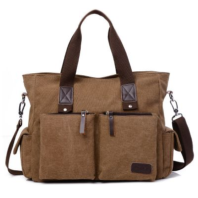 Men Casual Large Capacity Shoulder Bag Briefcases