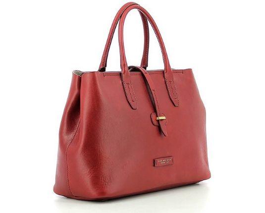 THE BRIDGE - Red Dalston Shopping Bag