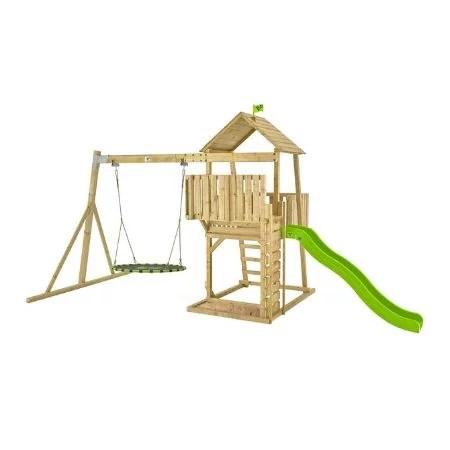 TP Kingswood York Wooden Swing Set & Slide-FSC
