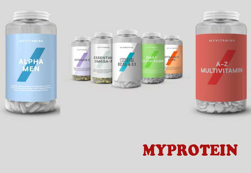 10 Popular Vitamins and Minerals from MYPROTEIN