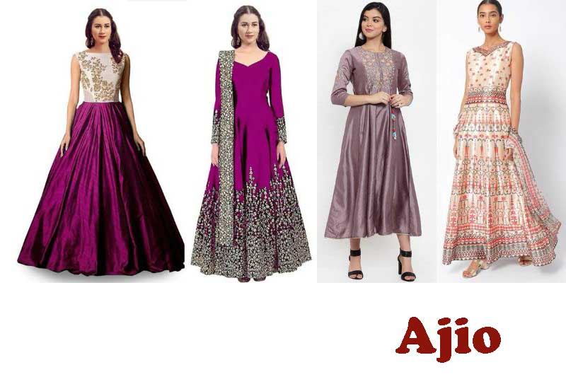 12 Best Selling Silk Gowns from Ajio