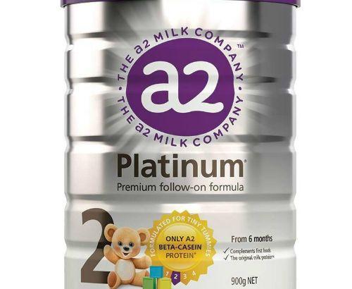 A2 Platinum series infant formula milk powder (2 stages) 6-12 months 900g