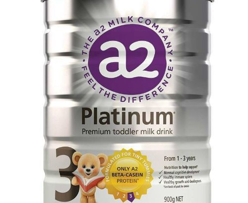 A2 Platinum series infant formula milk powder (3 stages) 1-3 years old 900g