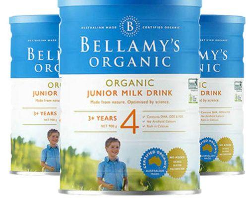 Bellamy's Bellamy's organic infant formula milk powder (new) 4 segments 900g
