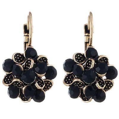 Bohemia Style Fashion Earrings for Women-Black